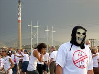 Faces Against Asarco Photo Event